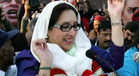 13th death anniversary of Benazir Bhutto being observed today