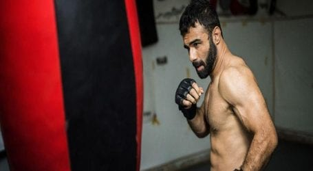 MMA player Bashir Ahmed returns to Pakistan