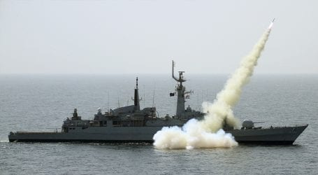 Pakistan Navy successfully conducts missile test at Arabian Sea