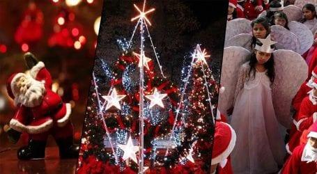 Christians celebrate Christmas across Pakistan today