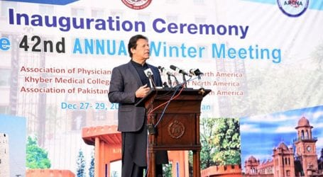 PM urges overseas Pakistanis to raise voice for India's Muslims