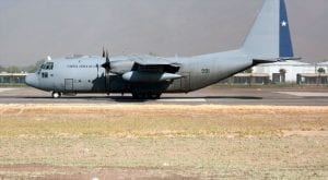 Chile military plane disappears with 38 people on board