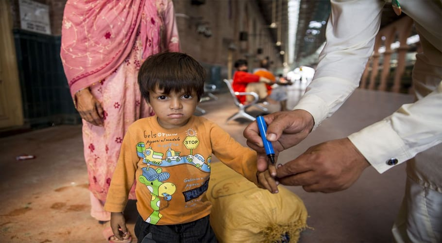 Pakistan to import polio markers from India