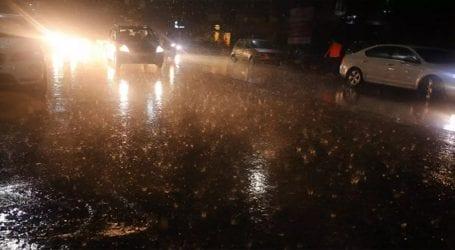 Light rainfall expected in Karachi on Wednesday night