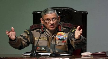 Indian army chief slammed for political remarks