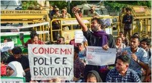 Indian movie stars condemn police crackdown in Delhi University