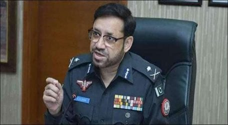 IGP Sindh hands cash rewards to police team