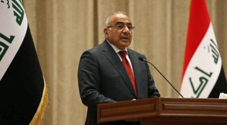 Iraqi prime minister resigns amid ongoing protests