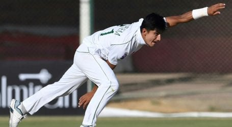 Naseem Shah becomes youngest fast bowler to take five Test wickets