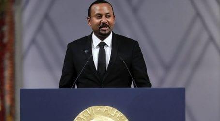 Ethiopian prime minister receives Nobel Peace Prize in Oslo