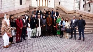 usman dar meets young politicians