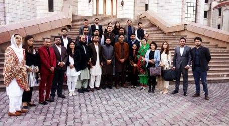 Young politicians of 10 political parties meet Usman Dar