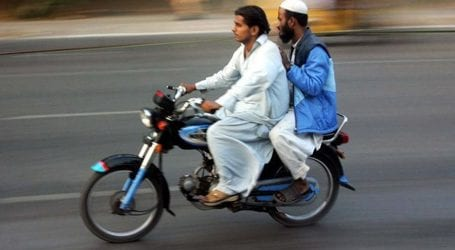Chehlum: Pillion riding banned in Sindh on October 9