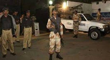 Rangers arrest two terrorists in Karachi