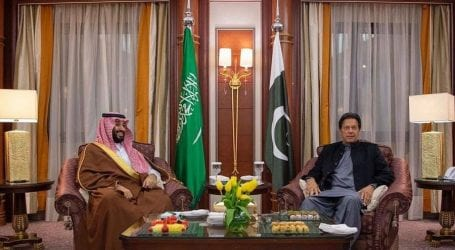 PM discusses regional issues with Saudi Crown Prince
