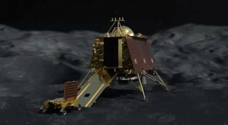 NASA satellite finds India's crashed Vikram moon lander