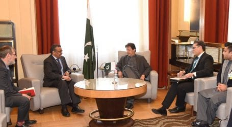 WHO chief appreciates Pakistan's efforts to eradicate polio virus