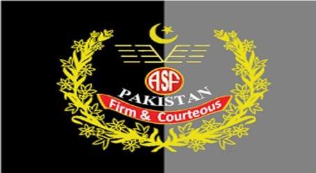 ASF foils drug smuggling bid at Lahore airport