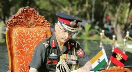 Indian Army Chief accuses Pakistan of ceasefire violations