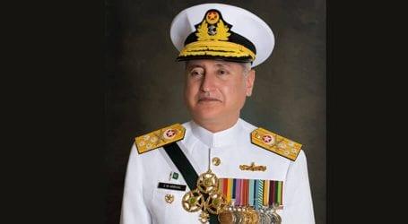 Admiral Abbasi meets civil-military leadership in Sri Lanka