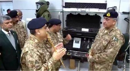 COAS inaugurates Electronic Warfare, GSR labs in Haripur