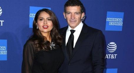 Salma Hayek sends sweet message to Antonio over Oscar nomination