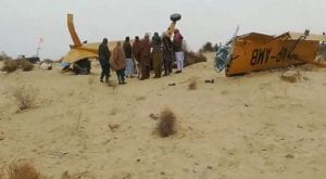 Spray plane crashes, pilots die in anti-locust operations in Sadiqabad