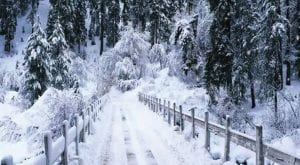 heavy rain, snowfall in Quetta, GB