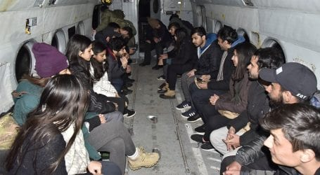 Pak Army rescues 22 stranded students from Gilgit