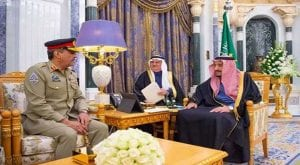 CJCSC Nadeem Raza calls on Saudi King Salman bin Abdul Aziz