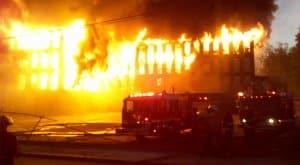 Fire erupts in Karachi's Korangi factory, one man burnt to death