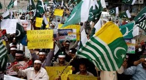 Kashmiris hold protest in Islamabad on Indian Republic Day