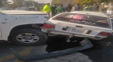 Woman killed, 5 wounded as US Embassy's car hit another vehicle in Islamabad