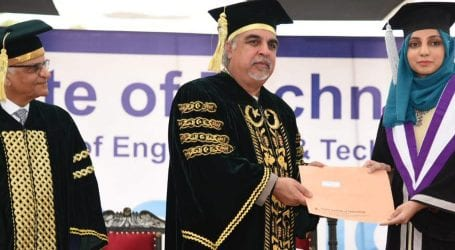 Usman Institute of Technology awards 271 degrees to students