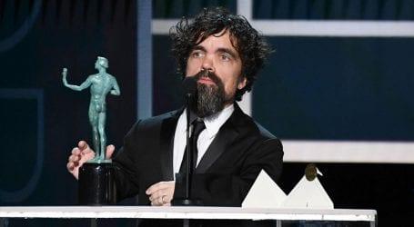 Peter Dinklage wins SAG Award for 'Game of Thrones'
