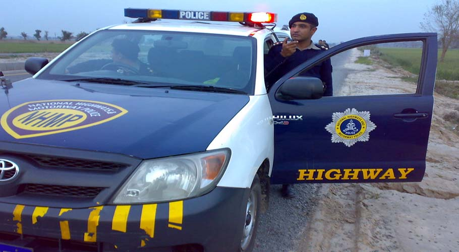 Motorway Police recover drugs from parked vehicle in Rawalpindi