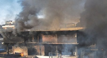 Worker dies in Faisalabad factory fire