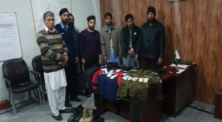 Five member gang of robbers busted in Islamabad