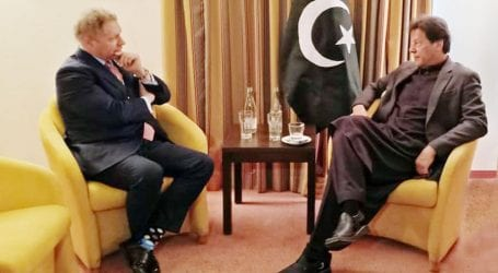 PM meets GAVI chief, IMF President in Davos