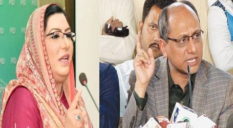 Saeed Ghani, Firdous scuffle on social media over tax collection