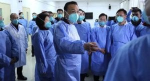 Chinese premier visits epicenter of virus as death row reaches 80