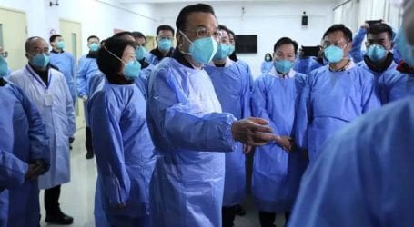 Chinese premier visits epicenter of virus as death toll reaches 80