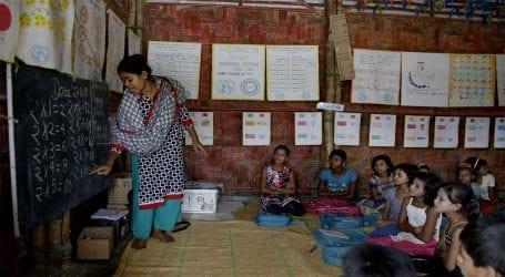 Bangladesh to establish schools for Rohingya refugee children