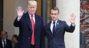Macron, Trump agree to hold tech giants off on digital tax