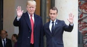 Macron, Trump agree to hold tech giants off on digital tax