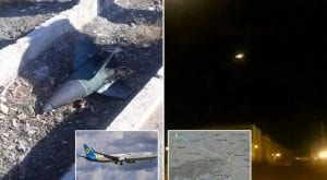 New footage reveals two Iranian rockets downed Ukrainian airline