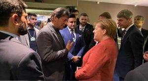Angela Merkel invites PM Khan to visit Germany in Davos