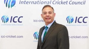 ICC chief executive to visit Pakistan next week