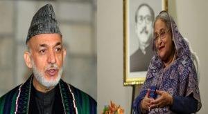 Karzai, Hasina criticizes Indian citizenship act