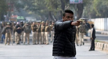 Gunman opens fire at anti-CAA protest rally in Delhi